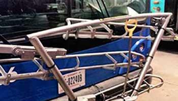 Automatic Passenger Counting Hardware | Multi-Slot Bike Rack